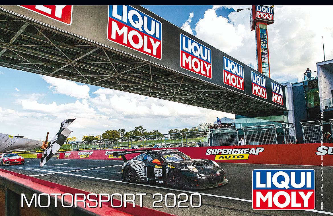 Calendrier Fun Car 2020.African Warmth In The European Winter Liqui Moly