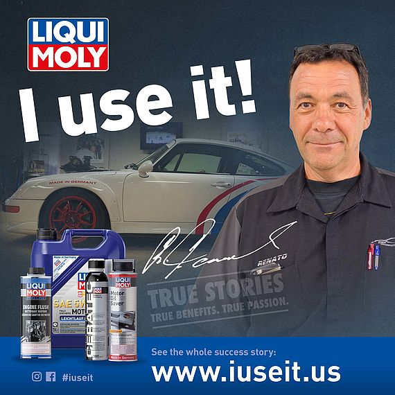 Porsche specialist, workshop owner and LIQUI MOLY testimonial. RSP-Motorsports Inc