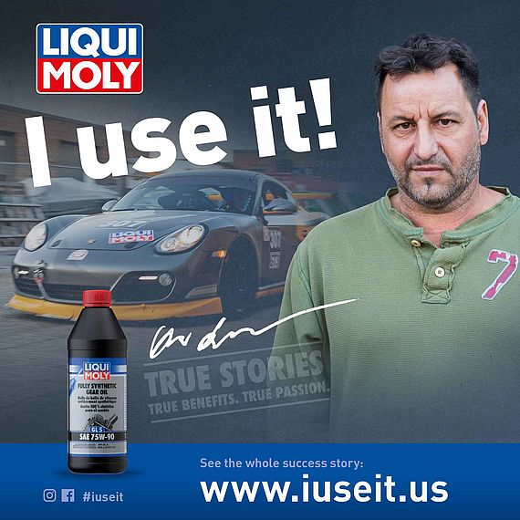 Technical Engineer at Porsche workshop and LIQUI MOLY testimonial. Bestline Auto Tech