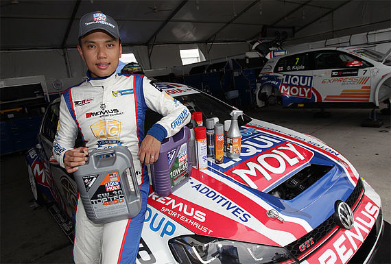 Andy Yan, TCR Asia Gesamtsieger 2016, setzt auf LIQUI MOLY-Produkte