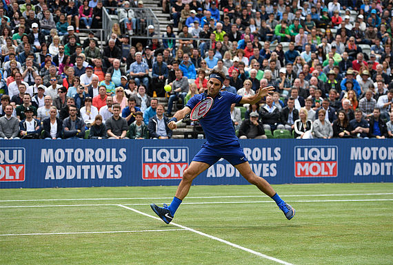 That fits together well: world star Roger Federer and world brand LIQUI MOLY.