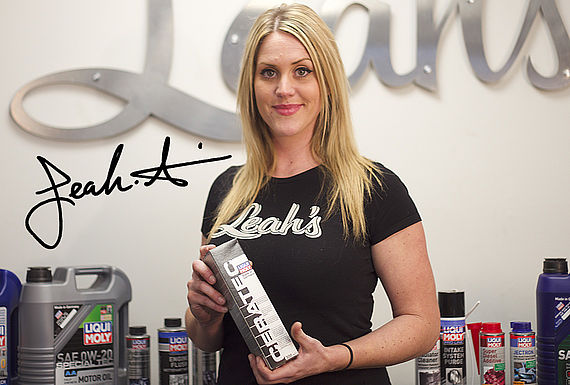 BMW specialist, workshop owner and LIQUI MOLY testimonial. Leah's Automotive, North Vancouver, BC V7P 1J9