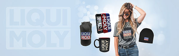 [Translate to Englisch:] Slider for the LIQUI MOLY USA teamstore
