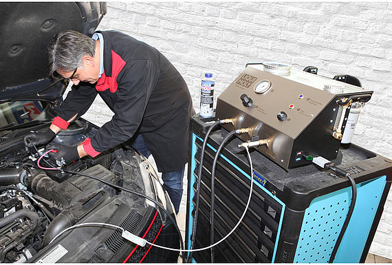Automechanika: Extra business for garages: LIQUI MOLY