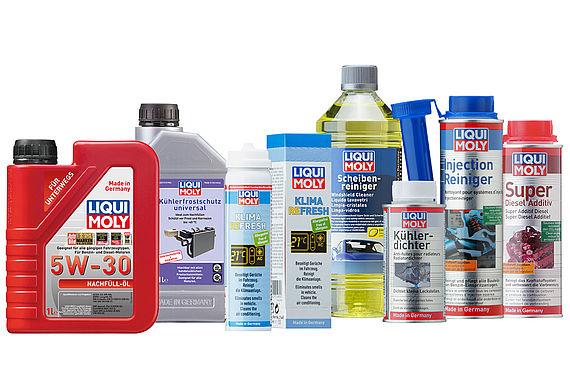 LIQUI MOLY Produkte für den Urlaubs-Check