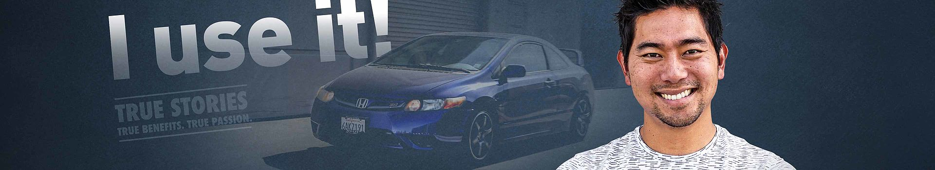 Honda Civic enthusiast and LIQUI MOLY testimonial.