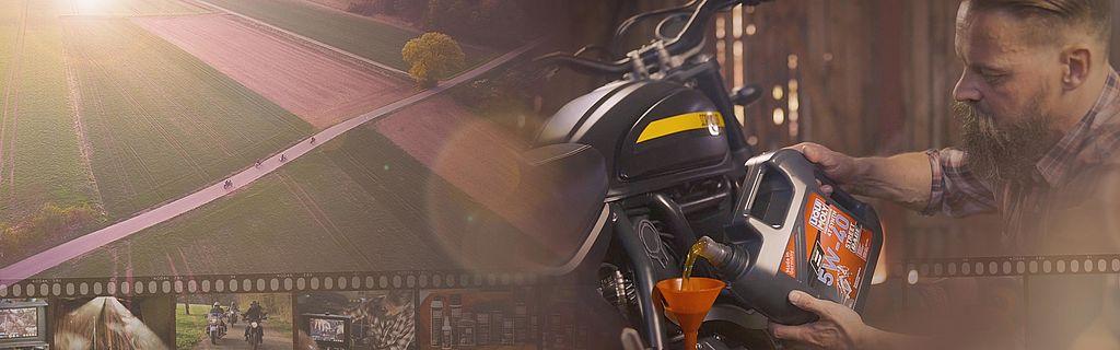 [Translate to Schwedisch:] Slider for the LIQUI MOLY MOTORBIKE Imagevideo