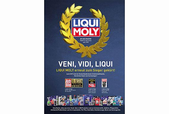 LIQUI MOLY auch bei Auto Bild beste Marke
