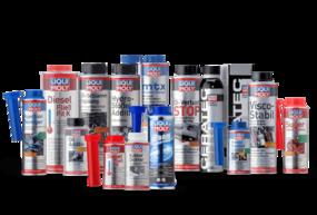 Produktbilder zur Liqui Moly Additive Serie
