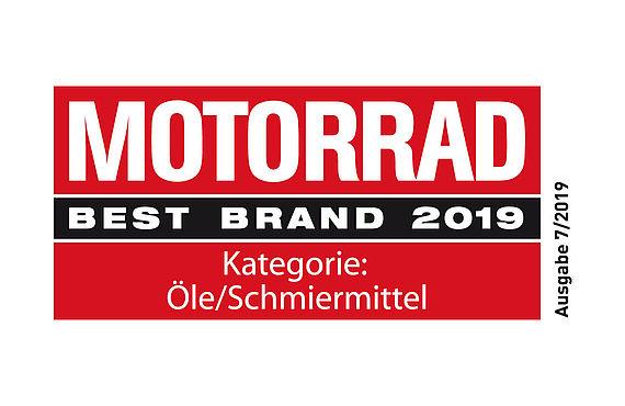 Motorrad Best Brand Titel für LIQUI MOLY