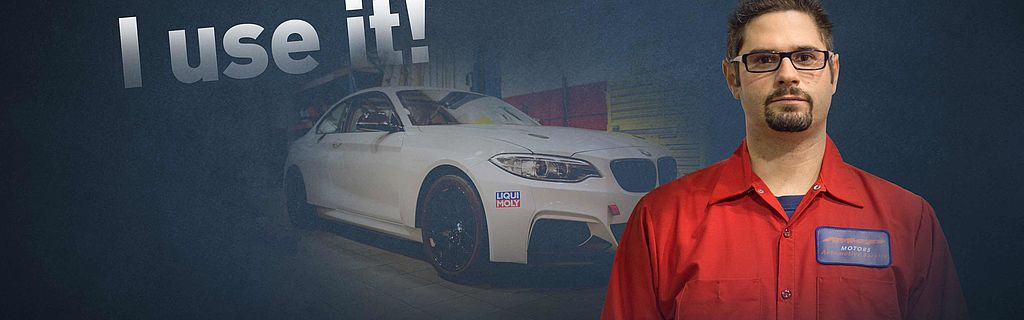 Owner of independent BMW workshop and LIQUI MOLY testimonial. RMP Motors