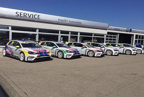 LIQUI MOLY Team Engstler VW GOLF GTIs für die TCR Germany 2017