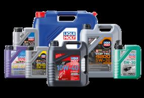 Produktbilder zur Liqui Moly Motoröl Serie