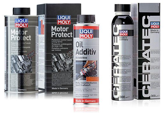 Added protection for the engine: LIQUI MOLY