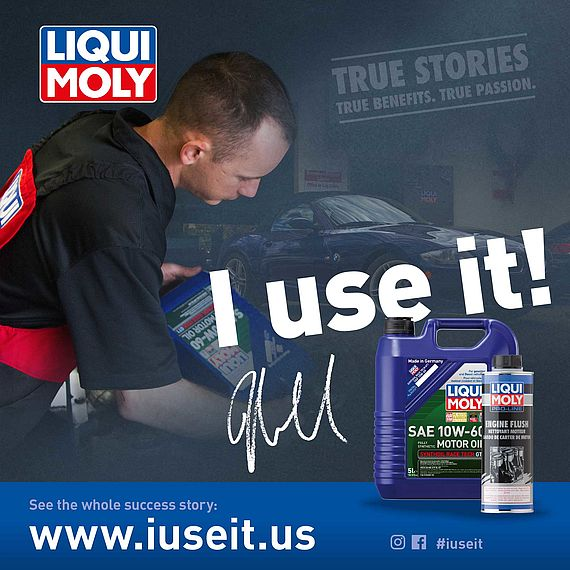 General Manager BMW Workshop and LIQUI MOLY testimonial. European Service Center