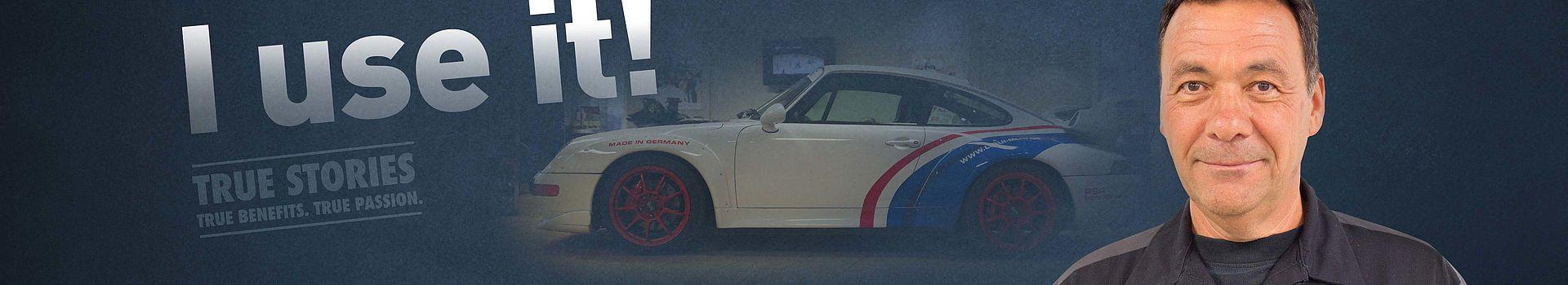 Porsche specialist, workshop owner and LIQUI MOLY testimonial. RSP-Motorsports Inc