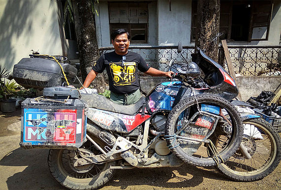 In Dimapur in Ost-Indien musste sich Rahim Resad erstmal von seiner Höhenkrankheit erholen
