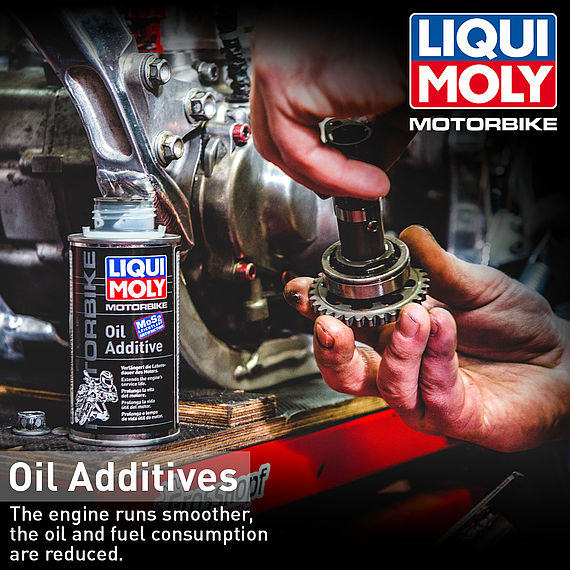 [Translate to Französich:] LIQUI MOLY Oil Additive