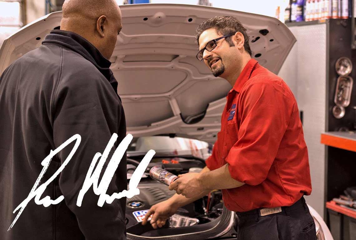 Owner of independent BMW workshop and LIQUI MOLY testimonial. RMP Motors, Etobicoke, Ontario M9W 6R1, Canada