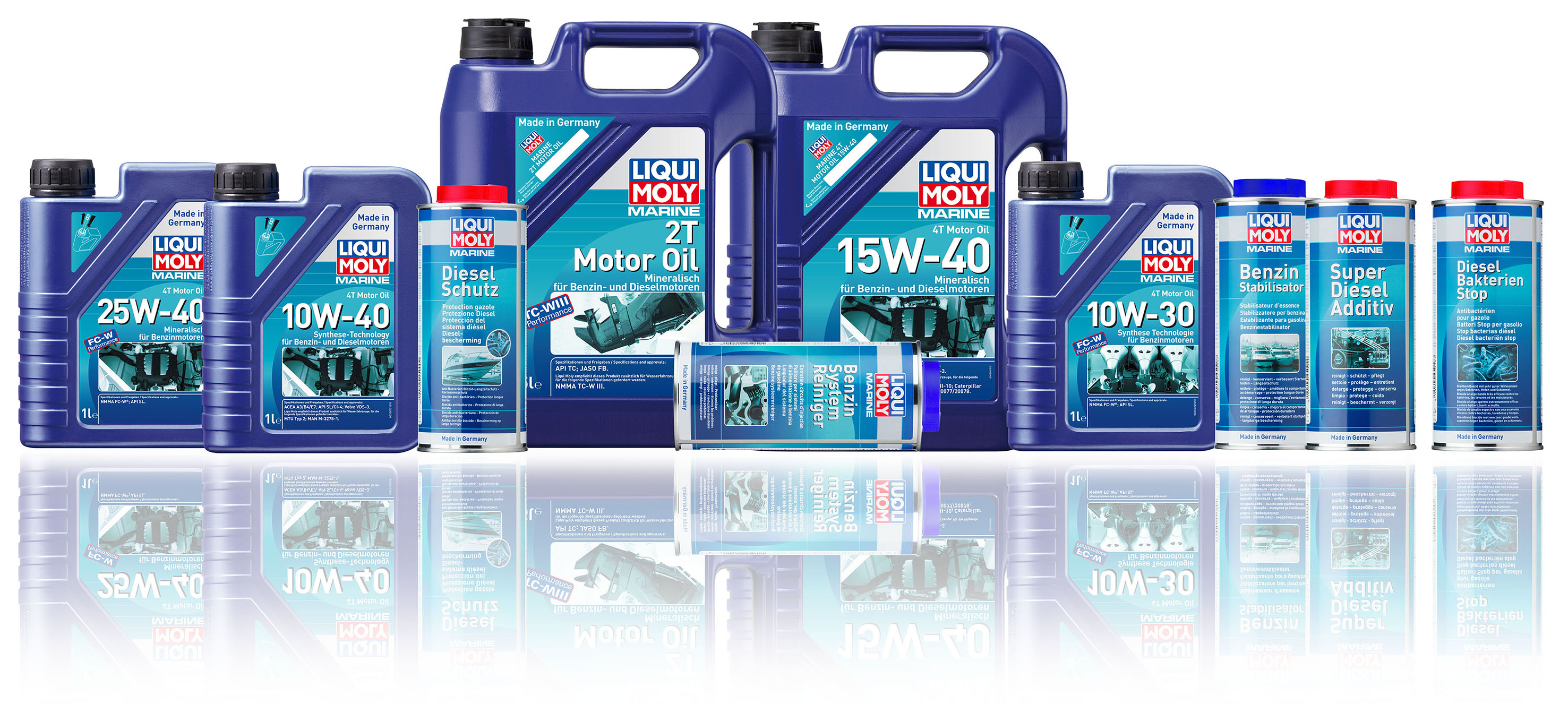 Motor oils, additives and other chemical helpers: LIQUI MOLY