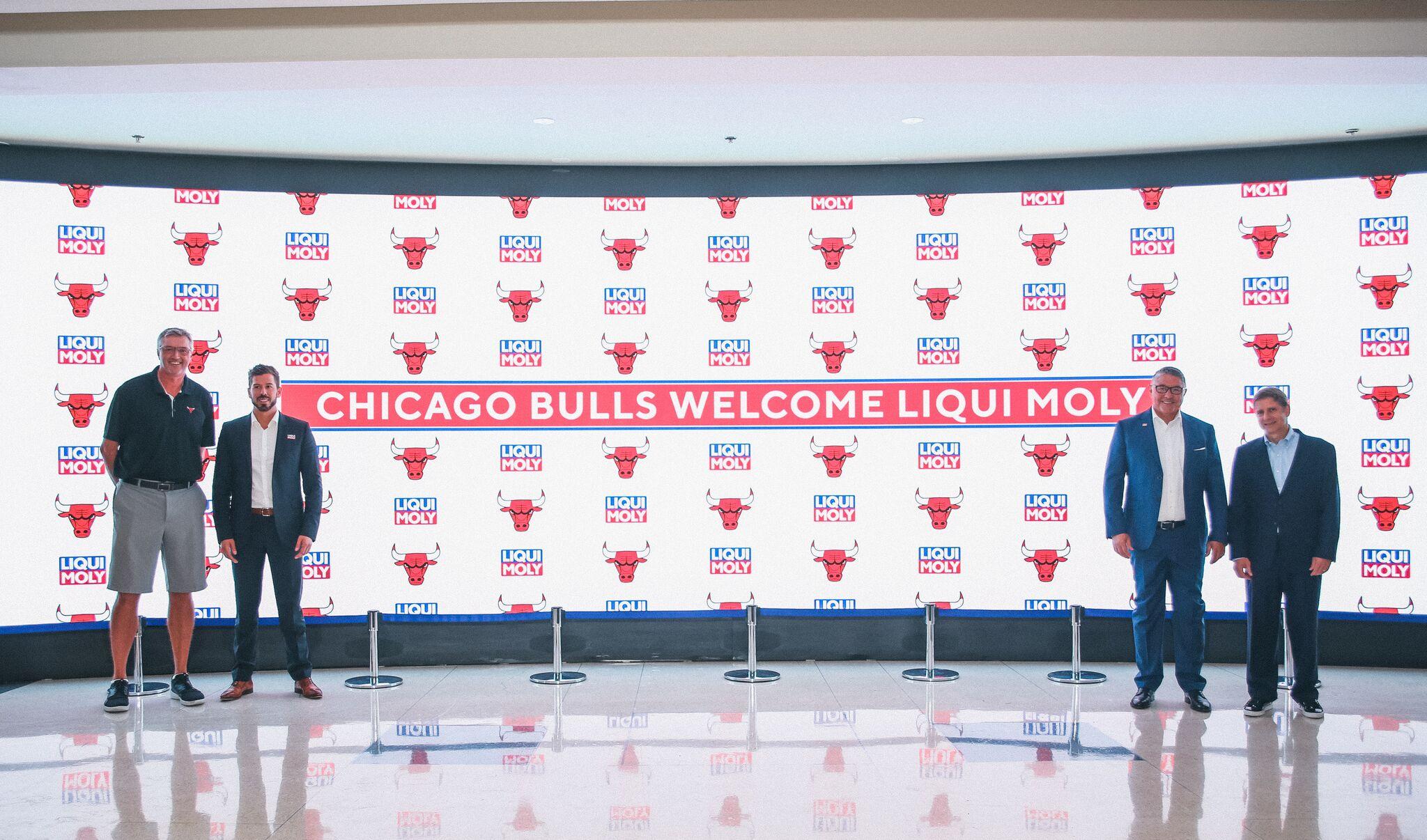 LIQUI MOLY se compromete con los Chicago Bulls  LIQUI MOLY d0f9aaec392