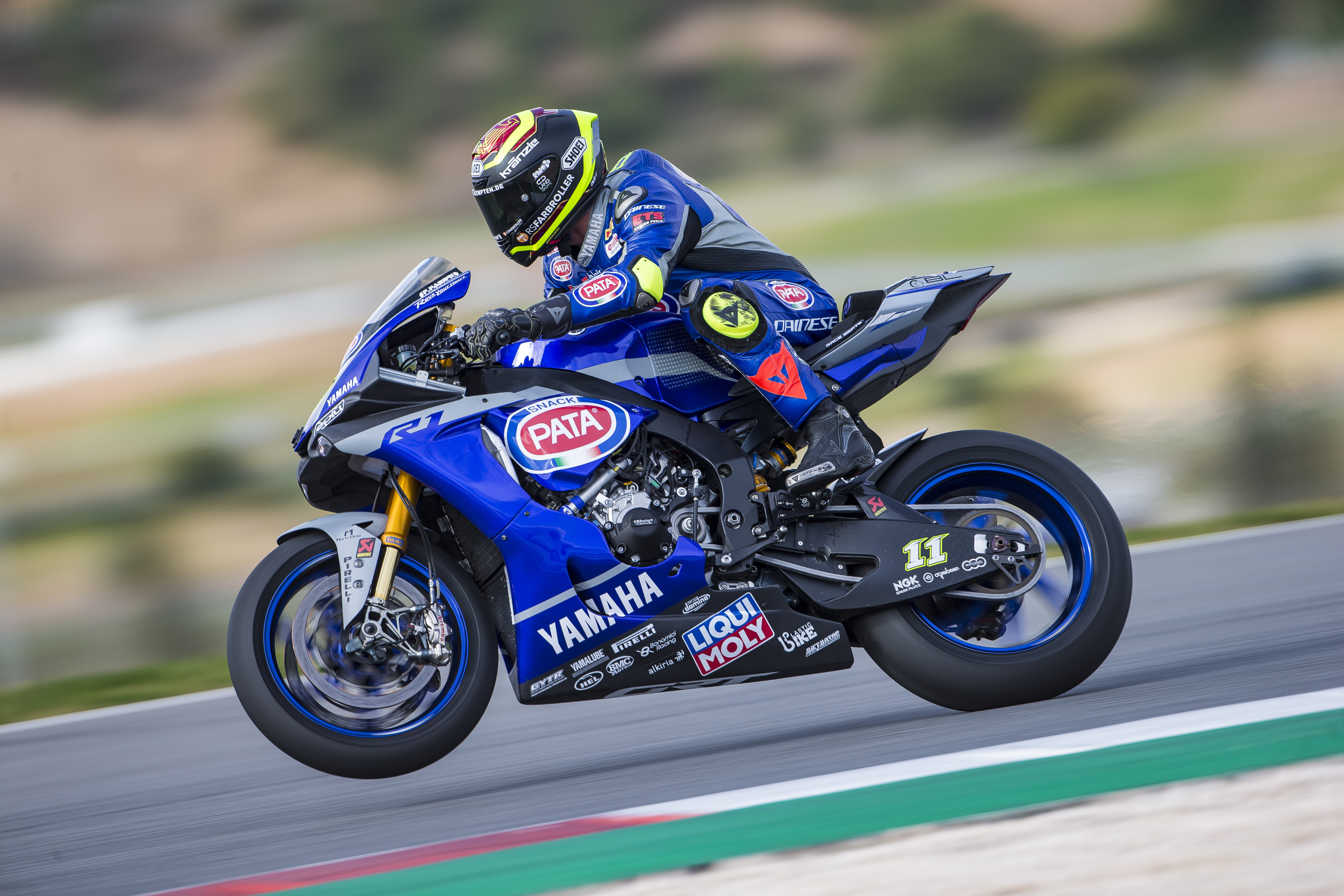 LIQUI MOLY with Yamaha in the Superbike World Championship: LIQUI MOLY