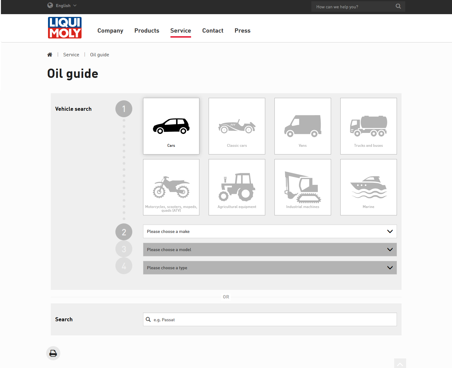 New Oil Guide by LIQUI MOLY: LIQUI MOLY