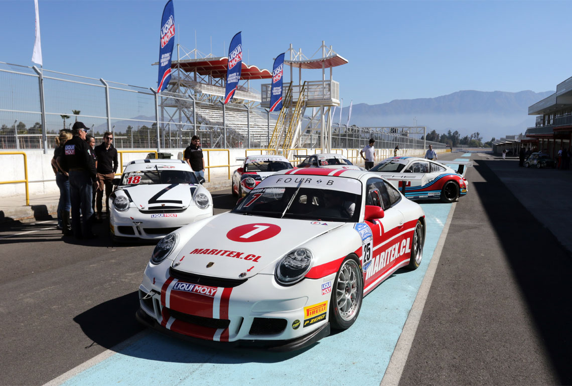 GT3 Cup Chile opts for LIQUI MOLY