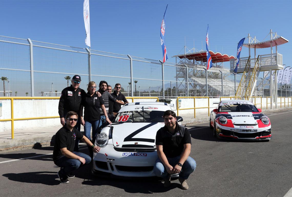 Todo el equipo se muestra tremendamente orgulloso de formar parte de esta competición.