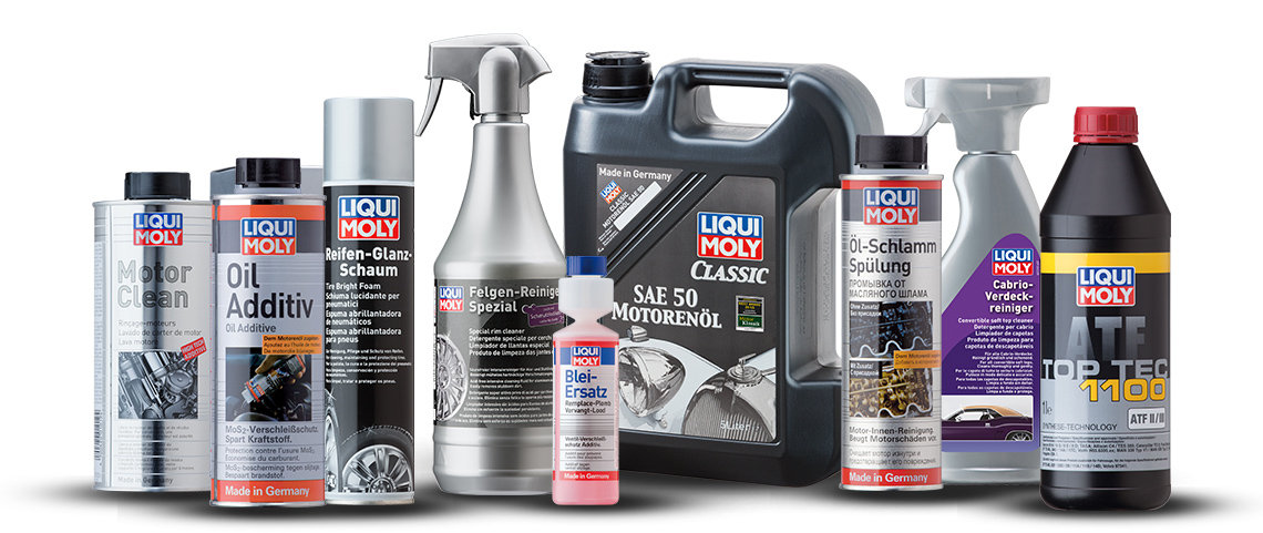There are many practical products available to you from the LIQUI MOLY full range particularly for classic cars.