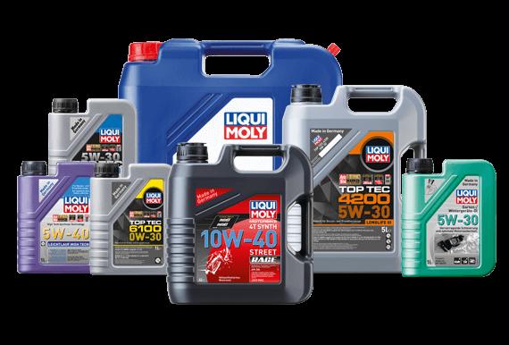 Produktbilder zur Liqui Moly Motoröl Serisi