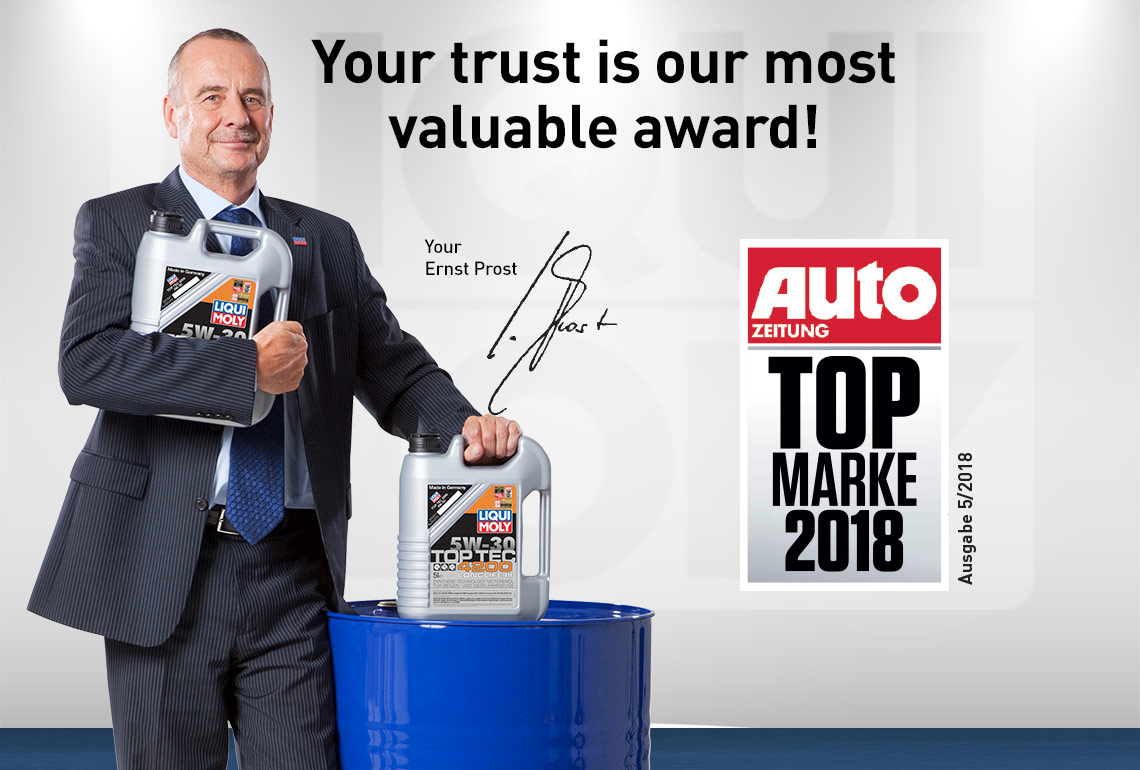 Ernst Prost Auto Zeitung Top Marke 2018