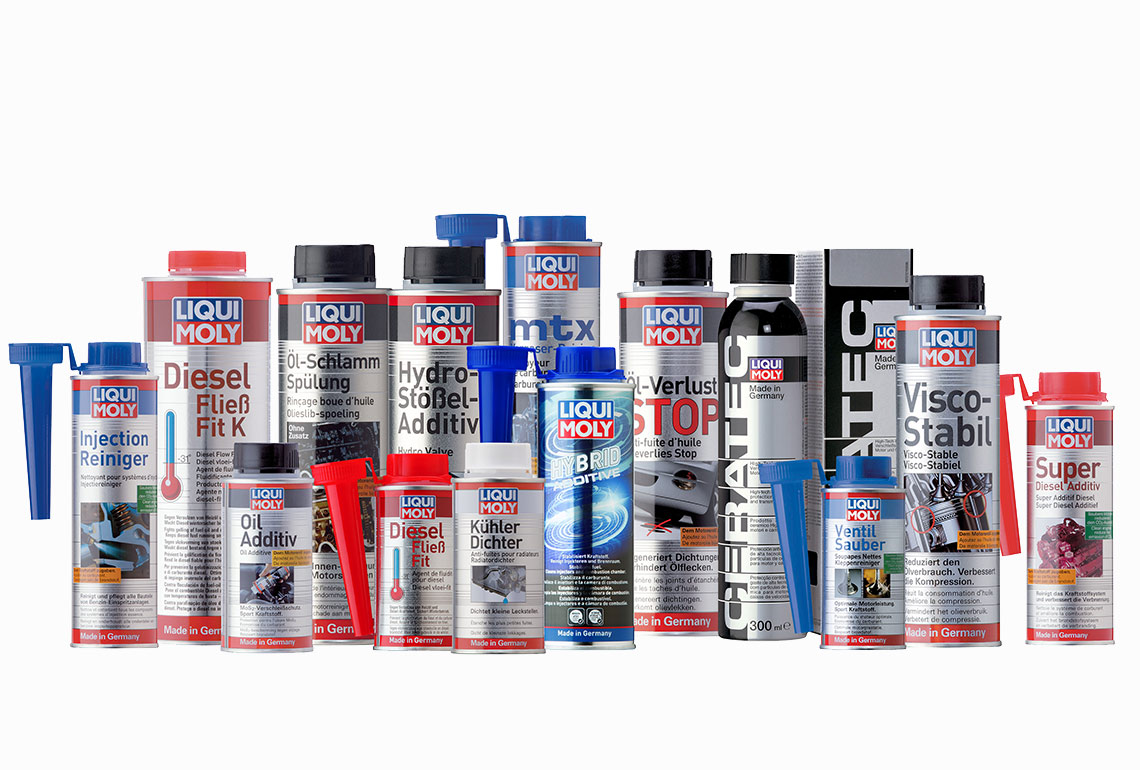 What are additives?: LIQUI MOLY