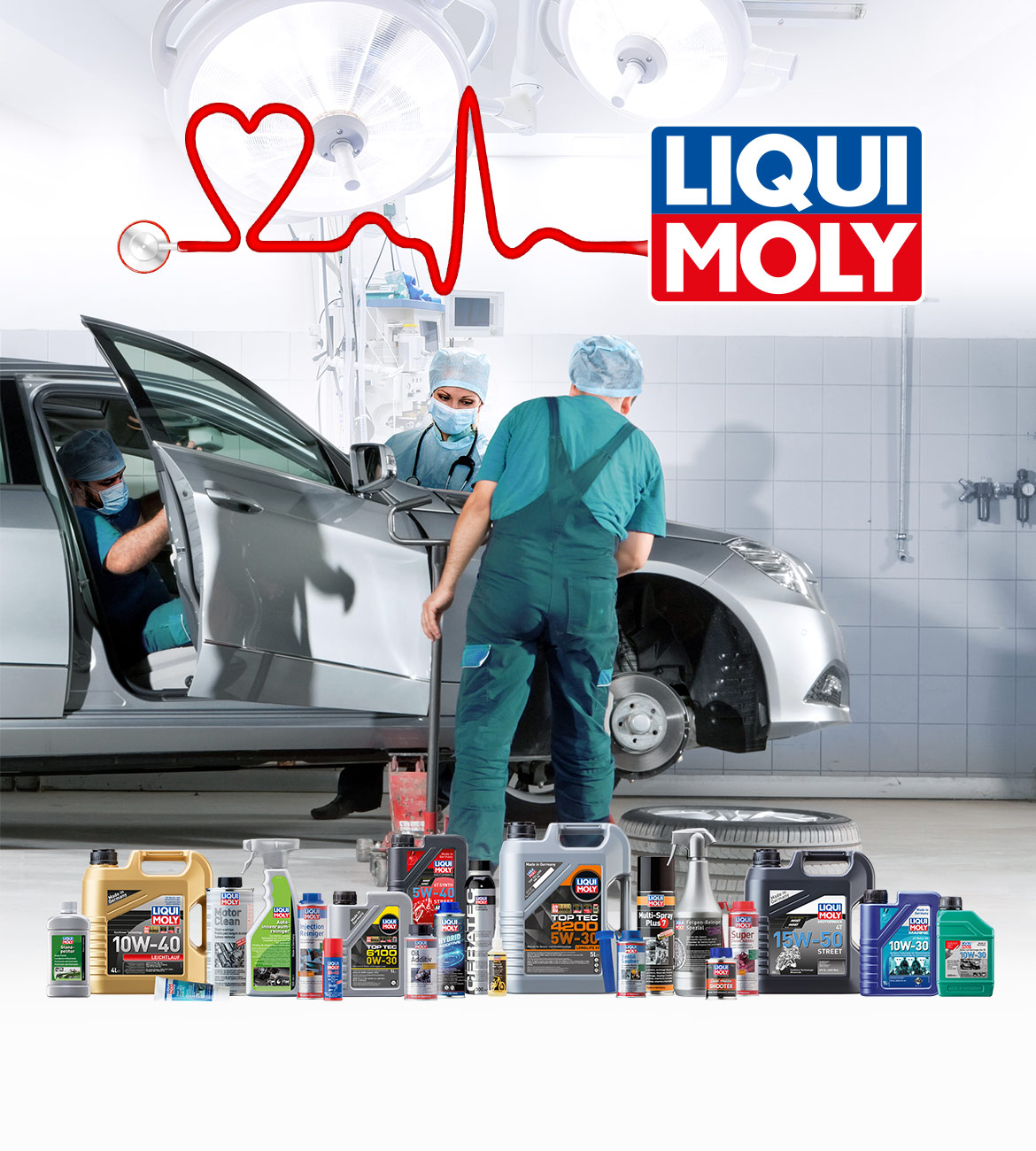LIQUI MOLY Motiv zum Vollsortiment