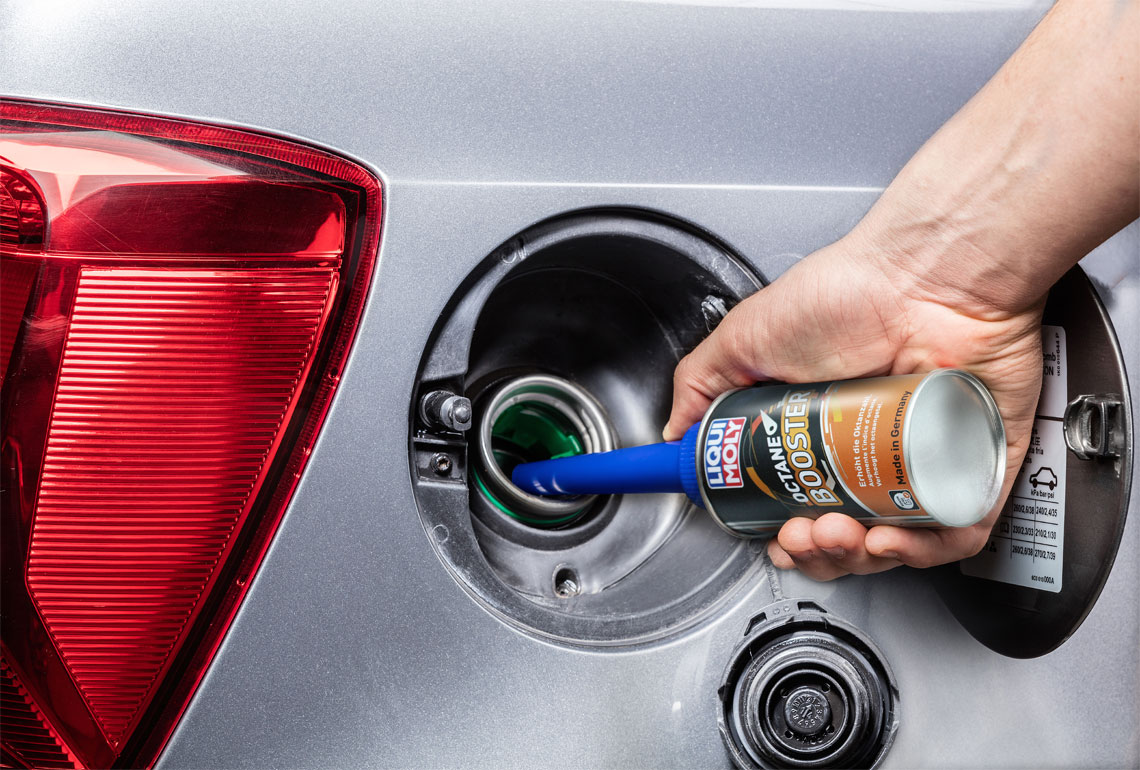 Doping for your fuel: Octane Booster: LIQUI MOLY