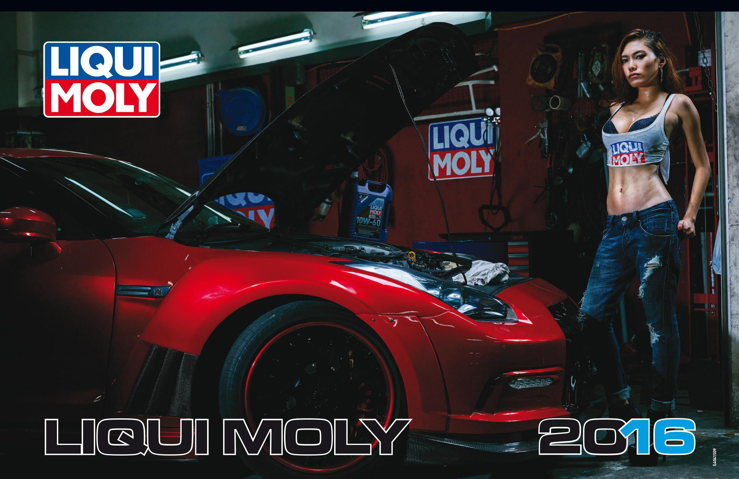 asia calendar 2016  liqui moly
